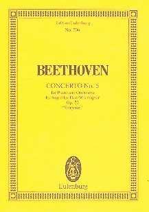 Ludwig van Beethoven Konzert Es-Dur Nr.5 op.73 : für Klavier und Orchester Studienpartitur