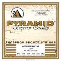 Pyramid 012-052 Phosphor Bronze Akustik-Gitarren Saiten