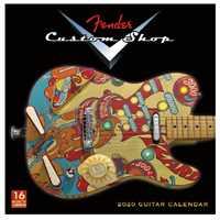 Fender Kalender Custom Shop 2020