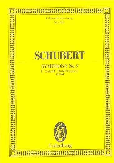 Franz Schubert Sinfonie C-Dur D944 : für Orchester Studienpartitur