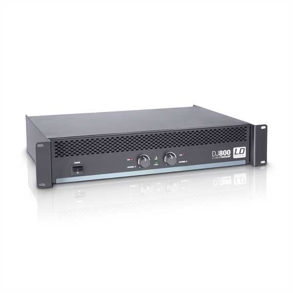 LD Systems DJ 800 - Endstufe