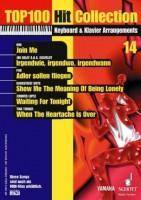 Antiquariat Top 100 Hit Collection 14 Keyboard & Klavier Arrangements