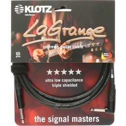 Klotz La Grange 4,5m Instrumentenkabel gewinkelt