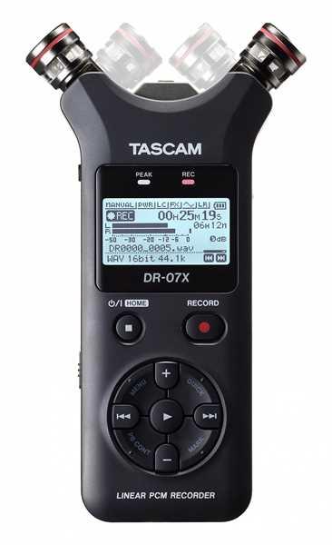 Tascam DR-07X portabler Digitalrecorder