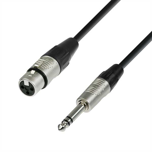 ah Cables - Kabel XLR-female auf Klinke-sym. (1,5m)