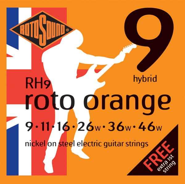 Rotosound RH9 Oranges