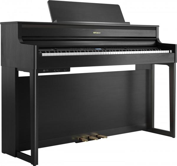 Roland HP-704 CH Digital Piano schwarz satiniert