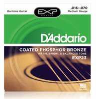 D'Addario EXP-23 Coated Saitenset 016-070 Bariton Guitar