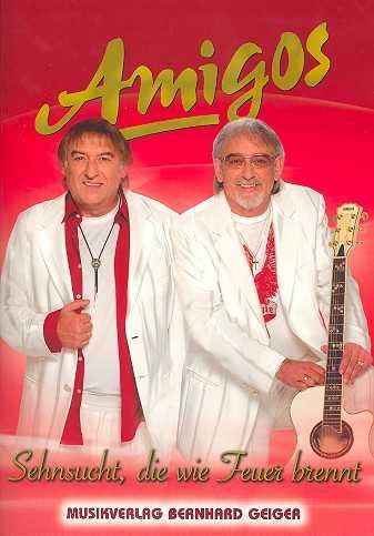 Amigos : Sehnsucht die wie Feuer brennt Songbuch für Gesang, Klavier und Gitarre