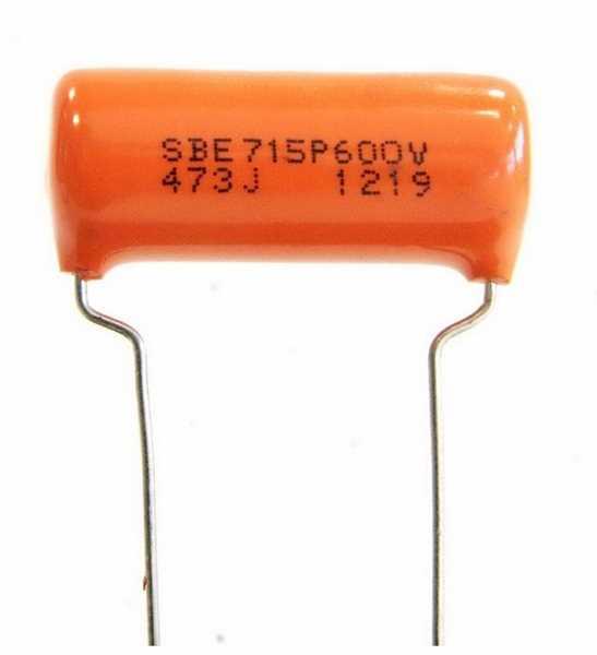 TAD Sprague Orange Drop 0,047µF 600V, Tone-Kondensator