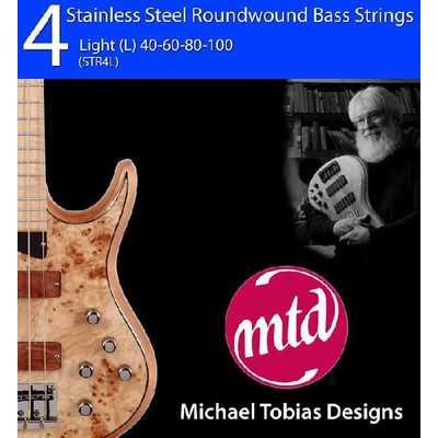 MTD Bass-Saiten 4-string Stainless Steel STR4L Light 040-100