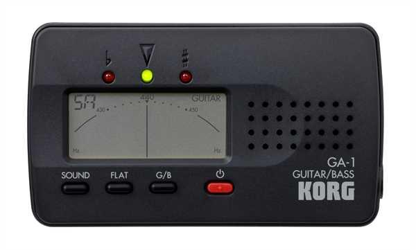 Korg GA-1 Gitarre und Bass Tuner