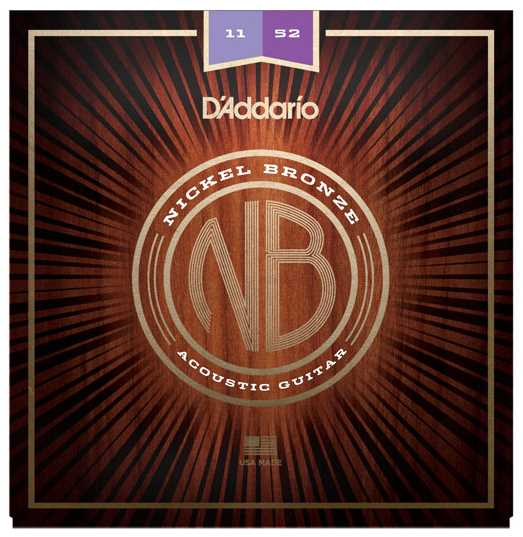 D'Addario NB1152 Nickel-Bronze Westerngitarrensaiten 011-052