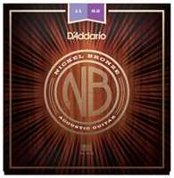D'Addario NB1152 Nickel-Bronze Westerngitarrensaiten 011-052