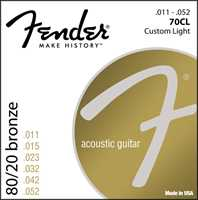 Fender 70CL Saitenset 80/20 Bronze 011-052