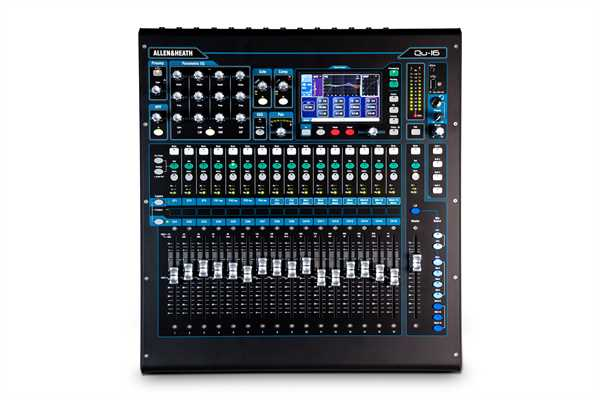 Allen & Heath QU16 - Digitalmischpult
