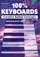 Antiquariat Klaus Gertken 100% Keyboards Creative Ballad Concepts incl. CD