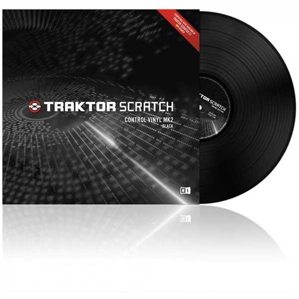 Native Instruments Traktor Control Vinyl MKII schwarz