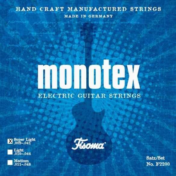 Monotex by Fisoma F2200 Super Light E-Gitarrensaiten