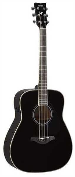 Yamaha Folk Guitar FG-TA Black