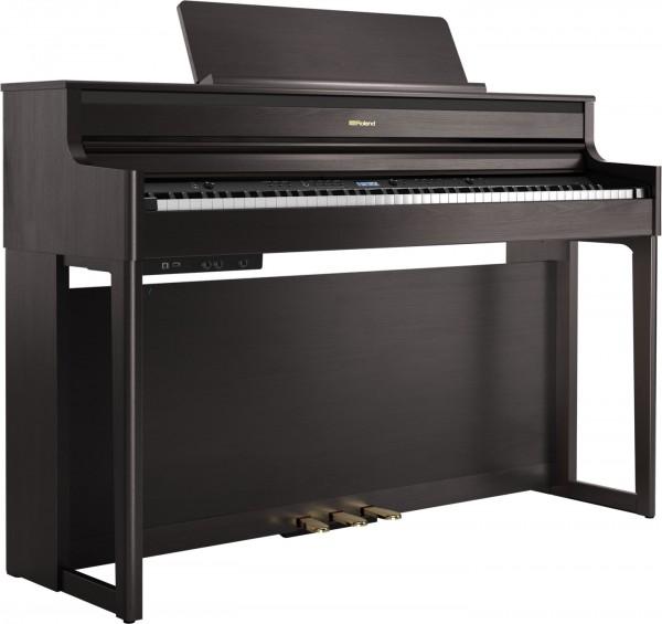 Roland HP-704 DR Digital Piano Rosenholz satiniert