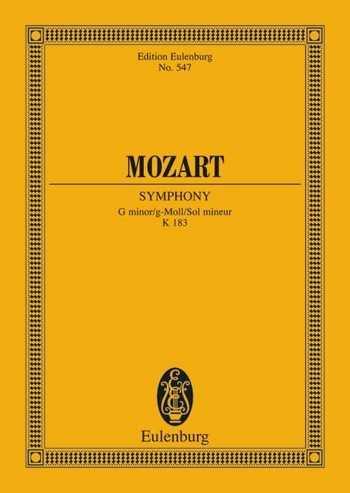 Wolfgang Amadeus Mozart Sinfonie g-Moll Nr.25 KV183 : für Orchester Studienpartitur