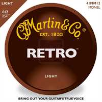 Martin MM-12 Retro Akustik-Saitenset 012-054, light