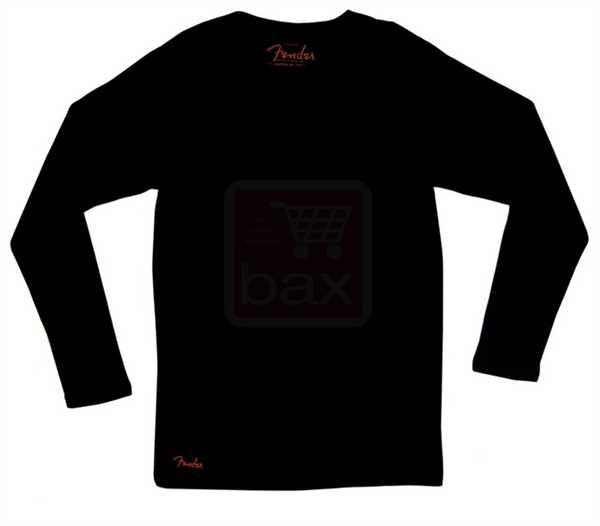 Fender Thermo Shirt Longsleeve schwarz Größe L