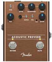 Fender Acoustic Preverb Effektpedal