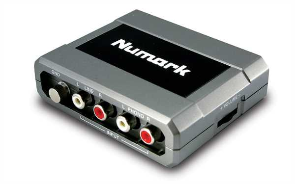 Numark Stereo IO All-In-One Stereo DJ Audio-Interface