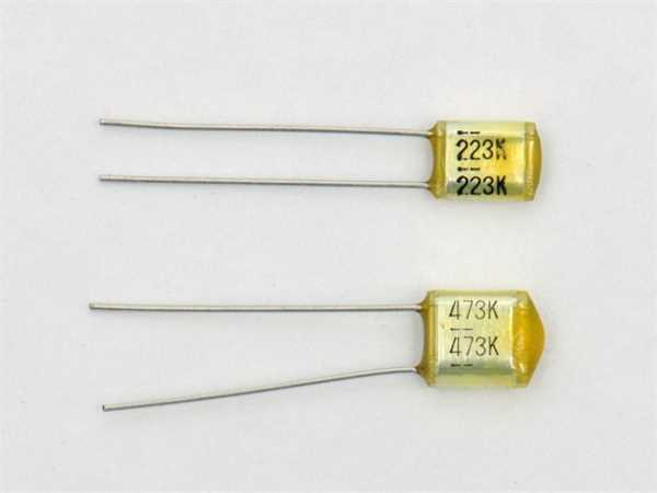 Göldo Oil Caps Kondensator 0,047µF