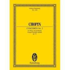 Chopin Konzert f-Moll Nr.2 op.21 : für Klavier und Orchester Studienpartitur