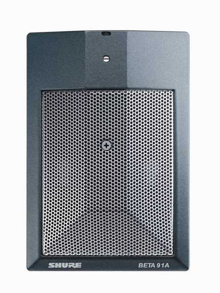 Shure Beta 91A Bassdrum-Mikrofon Grenzflächenmikro