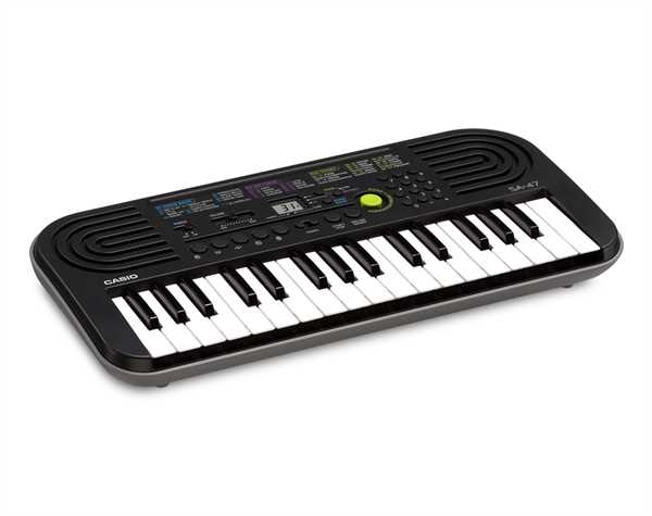 Casio Mini-Keyboard SA-47 grau