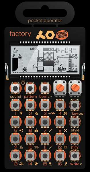 Teenage Engineering PO-16 Pocket-Factory