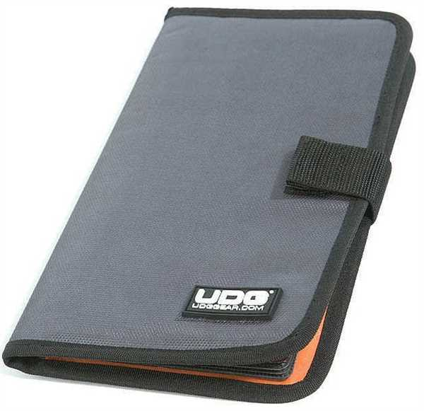 UDG CD-Tasche für 24 CD Wallet Steel Grey / Orange