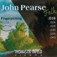 John Pearse Stahlsaiten Konzertgitarre .016 - .039 für Folkpicking